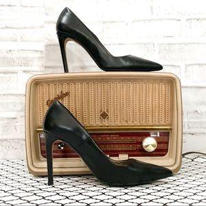 Zara Basics Black Stiletto
